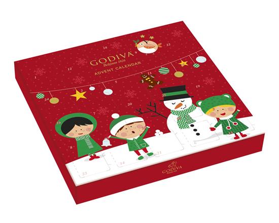 Godiva advent calendar